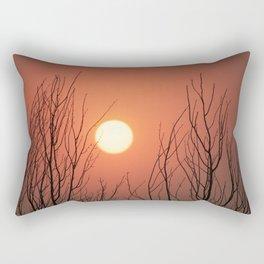 Burning Sky Rectangular Pillow