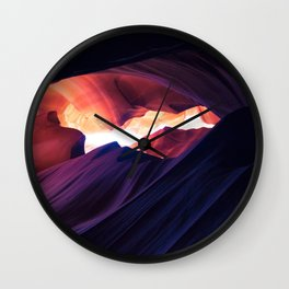 Antelope Canyon, Arizona Wall Clock