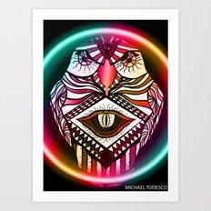 Night Hawk Art Print