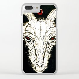 The Goat Clear iPhone Case
