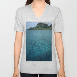 BoraBora, Queen of the Society Islands Unisex V-Neck