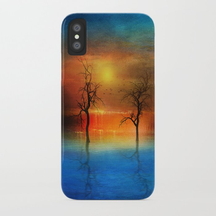 waterfall of light iPhone Case