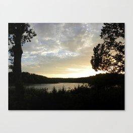 Denmark's Setting Sun  Canvas Print