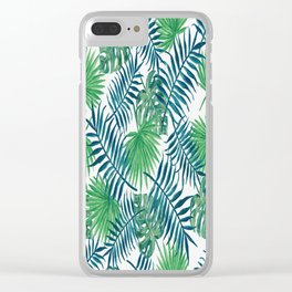 B&G Tropic Design Clear iPhone Case