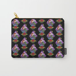 Wrestling Kitties Carry-All Pouch