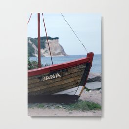 Cape Arkona Metal Print