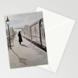 Waiting at Williton Stationery Cards