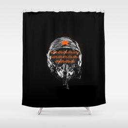 Space War Shower Curtain