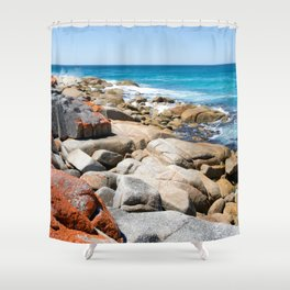 Bay of Fires Shower Curtain