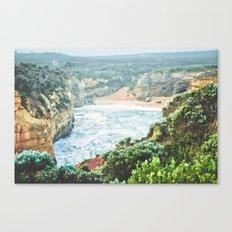Wild seashore, Australia Canvas Print