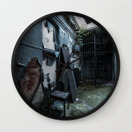 Abandoned Court House Wall Clock