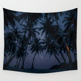 Find Me Under The Palms Wall Tapestry