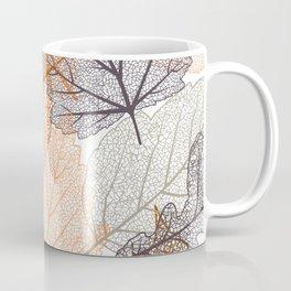 Autumn's Falling Leaves Coffee Mug