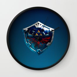 Link Shield Wall Clock