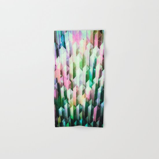 vivid quartz rising Hand & Bath Towel