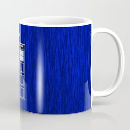 Tardis Time Coffee Mug