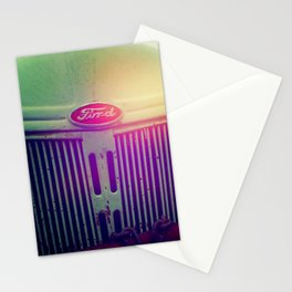 Sunset grill Stationery Cards