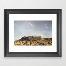 Meteor  Framed Art Print