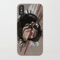 helen iPhone & iPod Cases featuring HELEN by CABINET