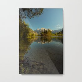 alp lake Metal Print