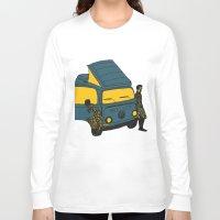 van Long Sleeve T-shirts featuring Van by AndaLouz