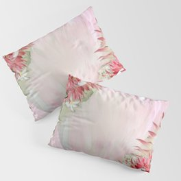 Fuchsia  Protea's with Blush & Gold ribbons Pillow Sham