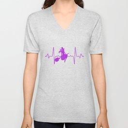Heartbeat Witch Unisex V-Neck