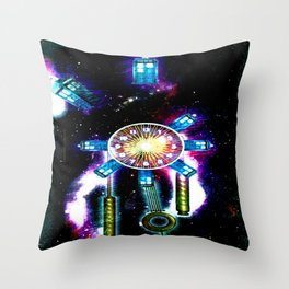 TIME SPACE STATION - 023 Throw Pillow