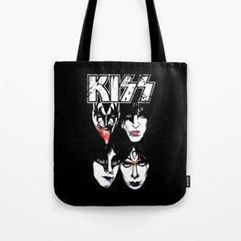 Kiss Band Tote Bag