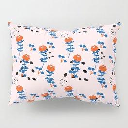 Illustrated Garden Pattern Pillow Sham
