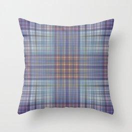 Classic Scottish plaid tartan pattern Throw Pillow
