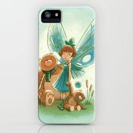 Goblins Drool, Fairies Rule! - Baby Blue iPhone Case