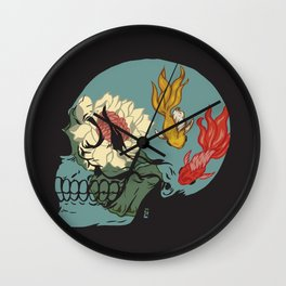 Serenity Within Wall Clock