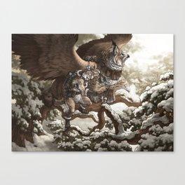 Lynx Mail Canvas Print
