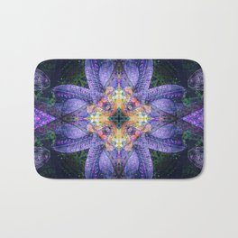 Flowers for Ange Bath Mat