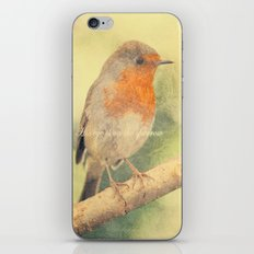 His eye is on the sparrow iPhone Skin