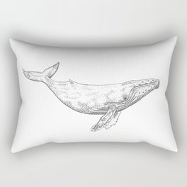 Humpback Whale Rectangular Pillow