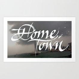 Home Town Art Print