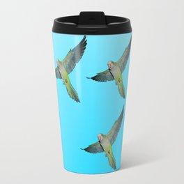 Flying parakeets Travel Mug