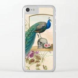 Momento Mori VIII Clear iPhone Case