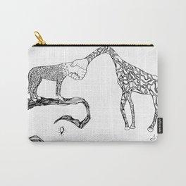 Giraffe/Cheetah Carry-All Pouch