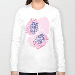 Pink Floral spark Long Sleeve T-shirt