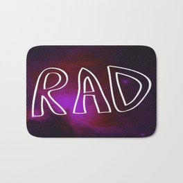 Rad Galaxy Bath Mat