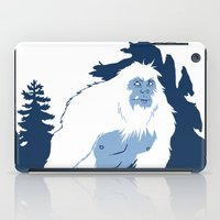 yeti iPad Cases featuring Yeti by Rachel Young