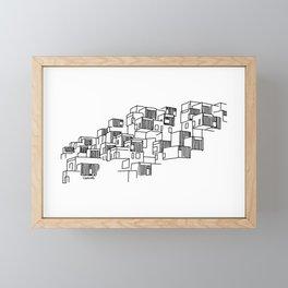 Montréal - Habitat67 - Black Framed Mini Art Print