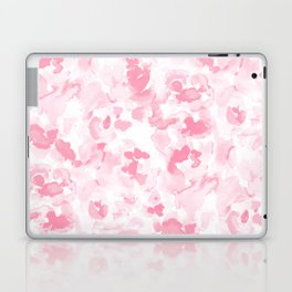 Abstract Flora Millennial Pink Laptop & iPad Skin