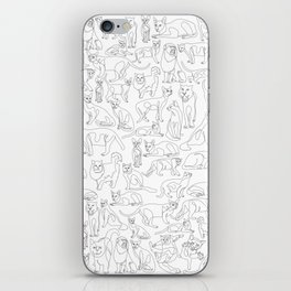 All Cats iPhone Skin