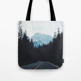 Canadian Road Tote Bag
