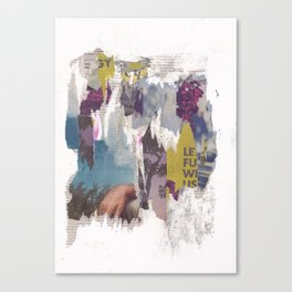 dirty tribune III Canvas Print