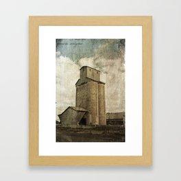 Boorowa Silos Framed Art Print